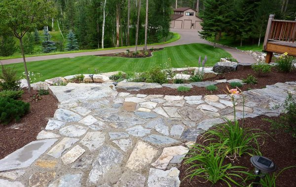 Natural Stone Patios and Edging
